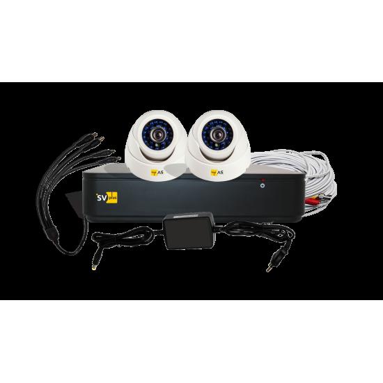 AHD-комплект системы видеонаблюдения VHD-Kit112H