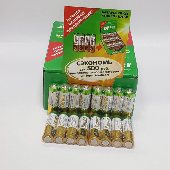 Alkaline GP SUPER батарейка АА 96 штук