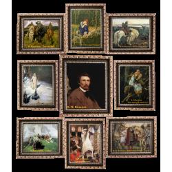 Коллекция миниатюр В. М. Васнецова.