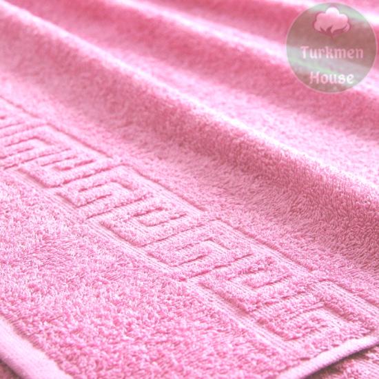 """Махровое полотенце """"Греческий бордюр. Ашхабад"""", 40*70 см"""
