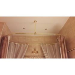 """Карниз для отдельно стоящих ванн """"Овал"""" ( золото)"""
