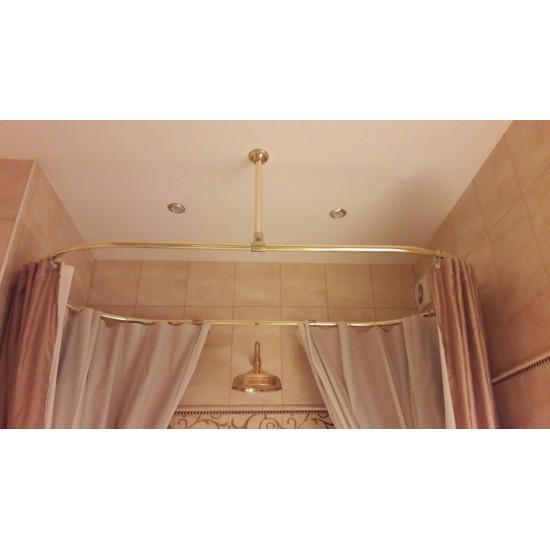 "Карниз для ванн ""Овал"" ( золото)"