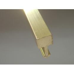 """Профиль """"Т"""" 5 мм  латунный для заделки швов .2,5 м"""