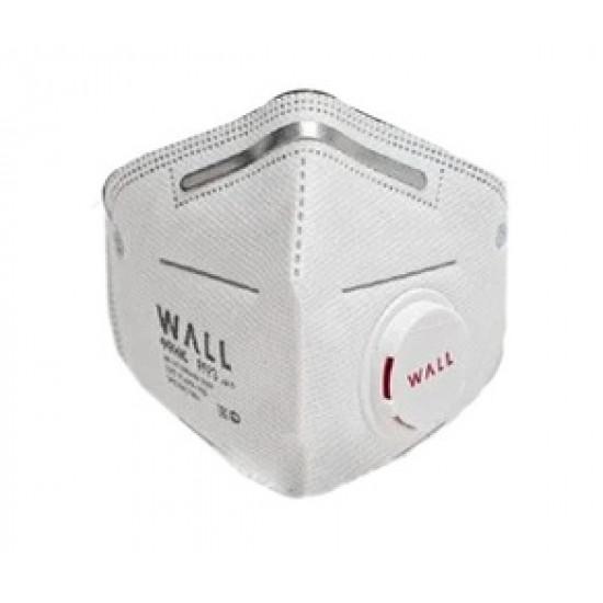 Респиратор полумаска c клапаном WALL 99HK, FFP3 Фиксация через голову