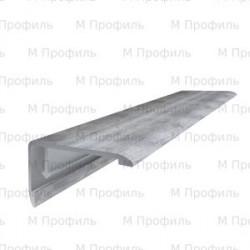 Ламинированный отделочный профиль (порог) MP 100 ОПТ