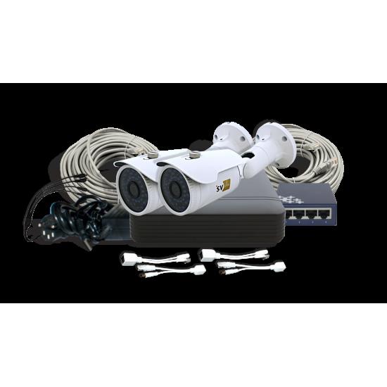 IP-комплект системы видеонаблюдения SVIP-Kit202S