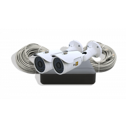 IP-комплект системы видеонаблюдения SVIP-Kit202S PoE