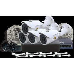 IP-комплект системы видеонаблюдения SVIP-Kit204S