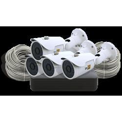 IP-комплект системы видеонаблюдения SVIP-Kit204S Poe