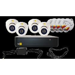 AHD-комплект системы видеонаблюдения VHD-Kit114H