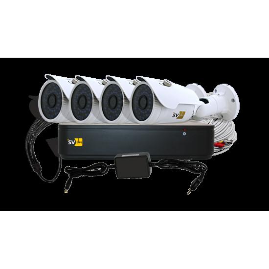AHD-комплект системы видеонаблюдения VHD-Kit114S