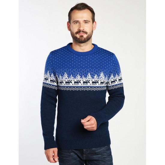 Новогодний свитер с оленями (мужской)