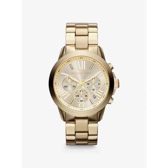Oversized Bradshaw Gold-Tone Watch